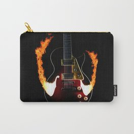 Burning Rock Guitar Carry-All Pouch