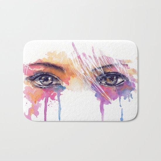 Rainbow Tears Bath Mat