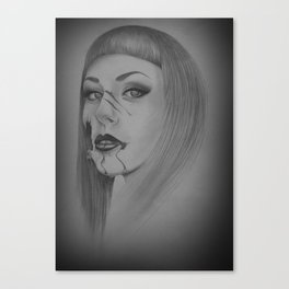Devines zombies #4 Canvas Print