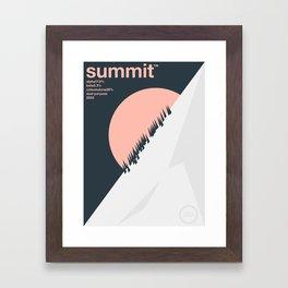 summit single hop Framed Art Print
