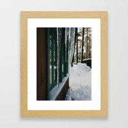 Ice Dream Framed Art Print