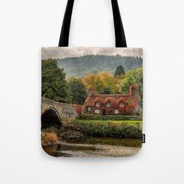Llanrwst Cottage  Tote Bag