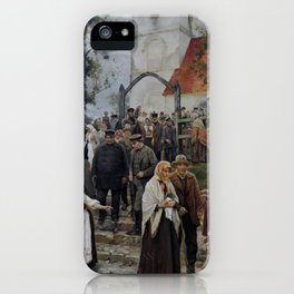 Janis Rozentals After Church iPhone Case