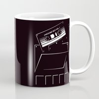 starlord Mugs featuring Gardians of the galaxy ( awesome mix vol.1) by MISTER BLACKWHITE