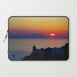 Oia Sunset Santorini Laptop Sleeve