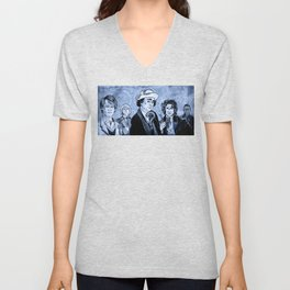 Doctor Who - Five, Six, Seven and Eight (and 'War') Unisex V-Neck
