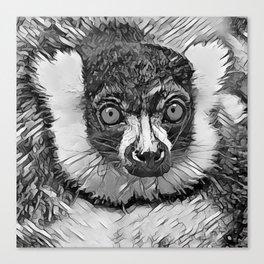 AnimalArtBW_Vari_20170601_by_JAMColorsSpecial Canvas Print