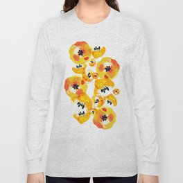 Water Flowers Long Sleeve T-shirt