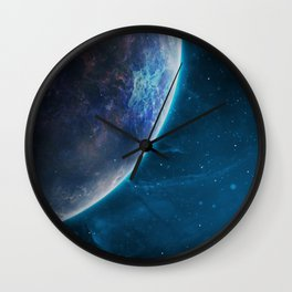 Space series 4. Wall Clock