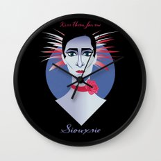Siouxsie Wall Clock