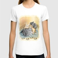 kittens T-shirts featuring Kittens by Michelle Behar
