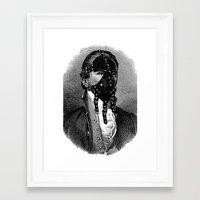 bdsm Framed Art Prints featuring BDSM IV by DIVIDUS