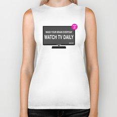 Watch TV daily Biker Tank