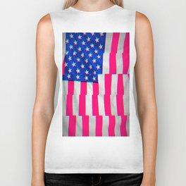 US Flag Biker Tank
