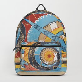 Great S-spiral Frieze Backpack
