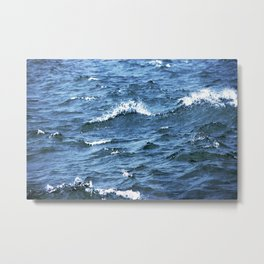 The Tides Will Roll Metal Print