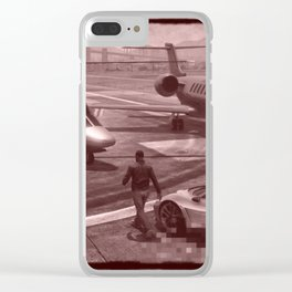 New But Old School GTA Clear iPhone Case