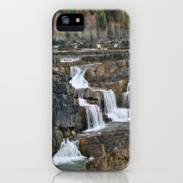 Kootenai Falls iPhone Case