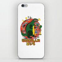godzilla iPhone & iPod Skins featuring GODZILLA by Katboy 7
