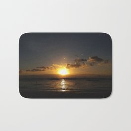 Sunset By The Beach Bath Mat