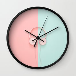A Colorful Sound Wall Clock