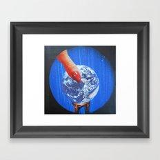 earth Framed Art Print
