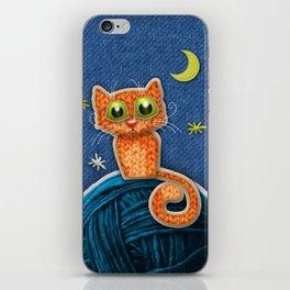 Fabric Cat iPhone Skin
