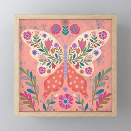 Blooming Butterfly Framed Mini Art Print