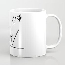 100 metre sprint athletics start Coffee Mug