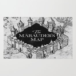 Marauders Map Rug