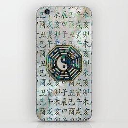 Abalone and Gold Bagua  feng shui hieroglyphs iPhone Skin