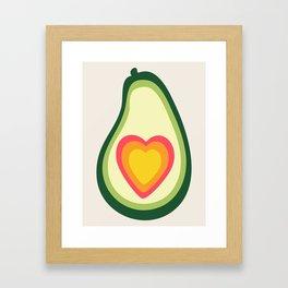 I Love Avo Framed Art Print
