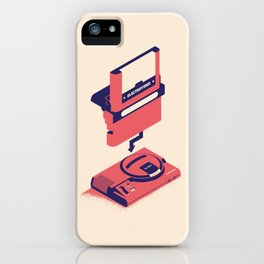 ElectroVideo MegaDrive (red) iPhone Case