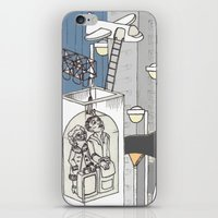 flight iPhone & iPod Skins featuring flight by Madmi