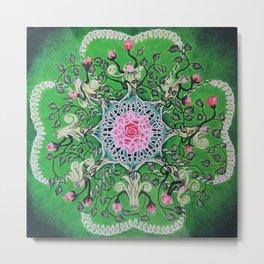Rose tree / Roosipuu Metal Print