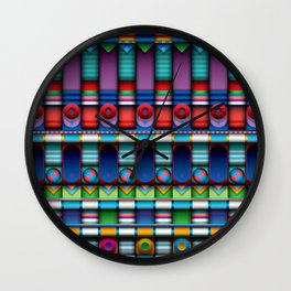 J.series_135_mckie Wall Clock