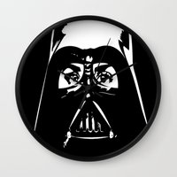 darth Wall Clocks featuring Darth  by shazii