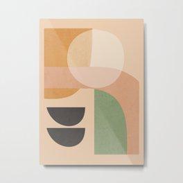 Abstract Art / Shapes 12 Metal Print