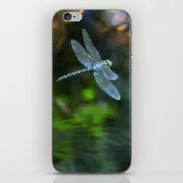 Dragonfly - Blue Eyed Darner - in Flight iPhone Skin