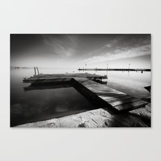 Balaton - Pier Canvas Print