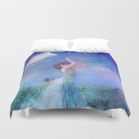 dreamcatcher Duvet Covers featuring Dreamcatcher by Aimee Stewart