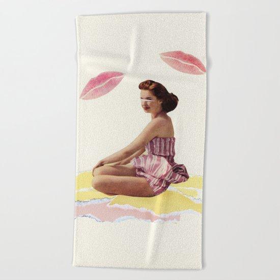 Be Mine Beach Towel