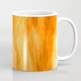 Red flame burning Coffee Mug