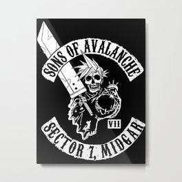 Sons Of Avalanche Metal Print