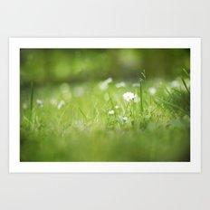 Flora calling Art Print
