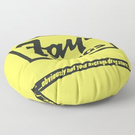 Fay's Drugs | the Immortal Yellow Bag Floor Pillow