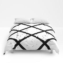 """""""Black Lines"""" Comforters"""