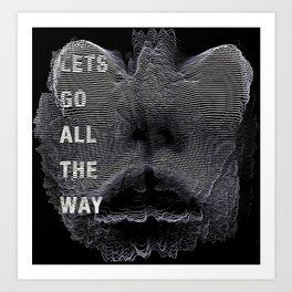 Alien Lover Art Print