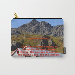 Serenity Prayer - I Carry-All Pouch