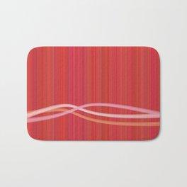 Strawberry Waves Bath Mat